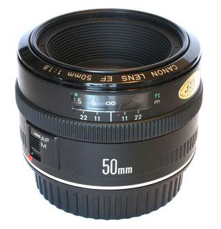 Grandad: Canon EF 50mm f/1.8.