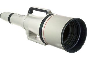 The Cannon: Canon EF 1200mm f/5.6L USM.