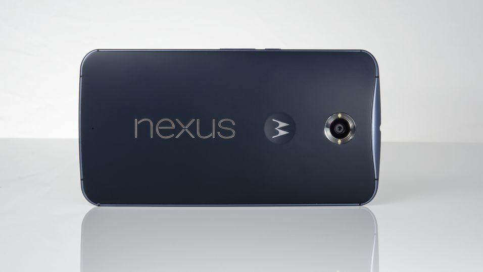 Det er ennå uvisst hva den neste Motorola-toppmodellen blir. Dette er Motorola-produserte Nexus 6.