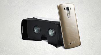 LG lanserer VR-briller til toppmobilen sin