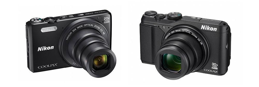 S7000 og S9900 (kameraene er korrekt skalert i forhold til hverandre.