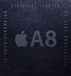 Apples A8-prosessor.