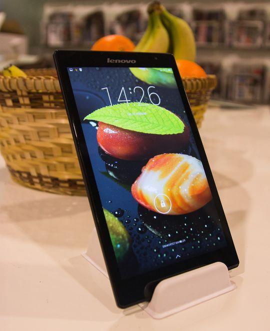 IPS-skjermen leverer spreke farger og god innsynsvinkel.