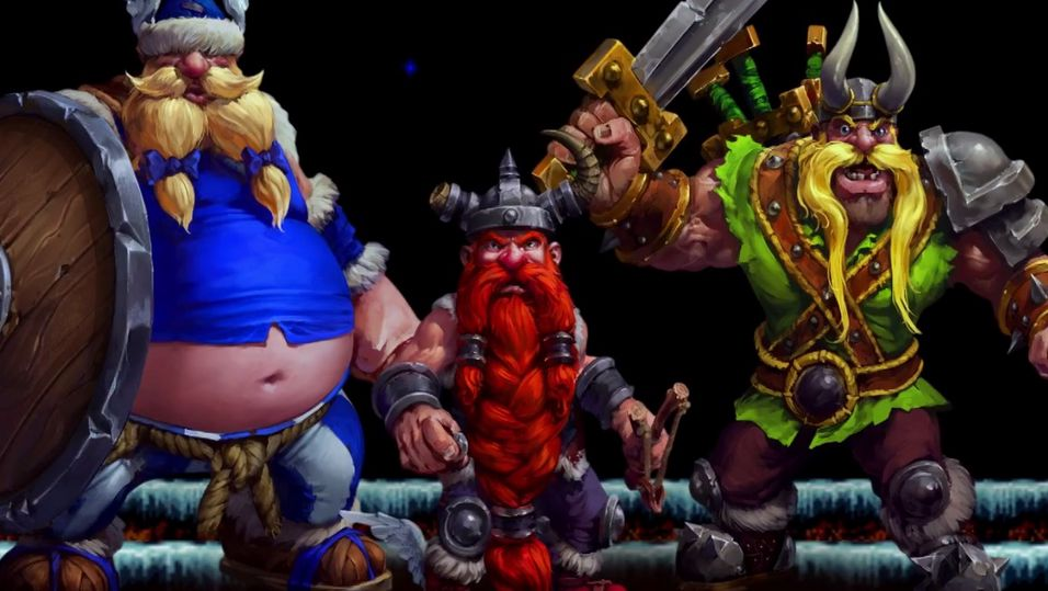 Nå er The Lost Vikings spillbare i Heroes of the Storm