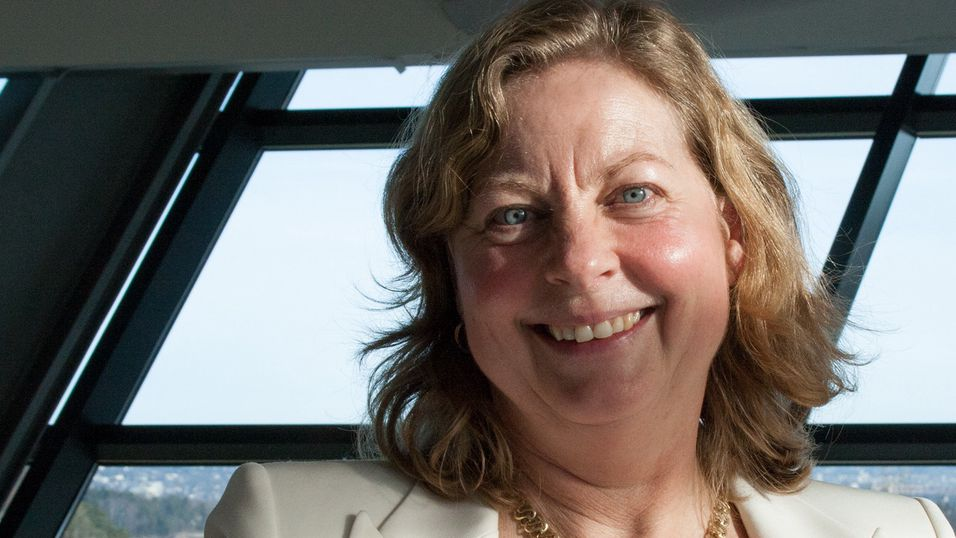 Telenorsjef Berit Svendsen kan juble over gode mobiltall. Nå rettes oppmerksomheten mot kundetapet på bredbåndssiden.