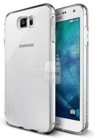Dette bildet viser en «Galaxy S6» som ser litt annerledes ut enn på bildene som ble lagt ut på Weibo.