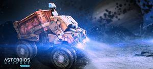 Asteroids Outpost. Konseptskisse.
