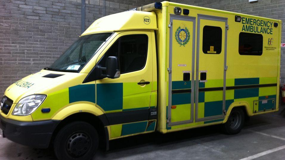 Irsk ambulanse.