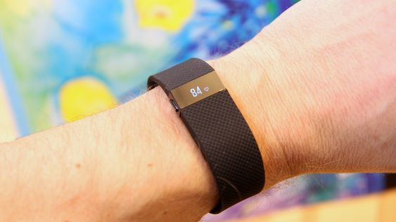 Fitbit Charge HR.