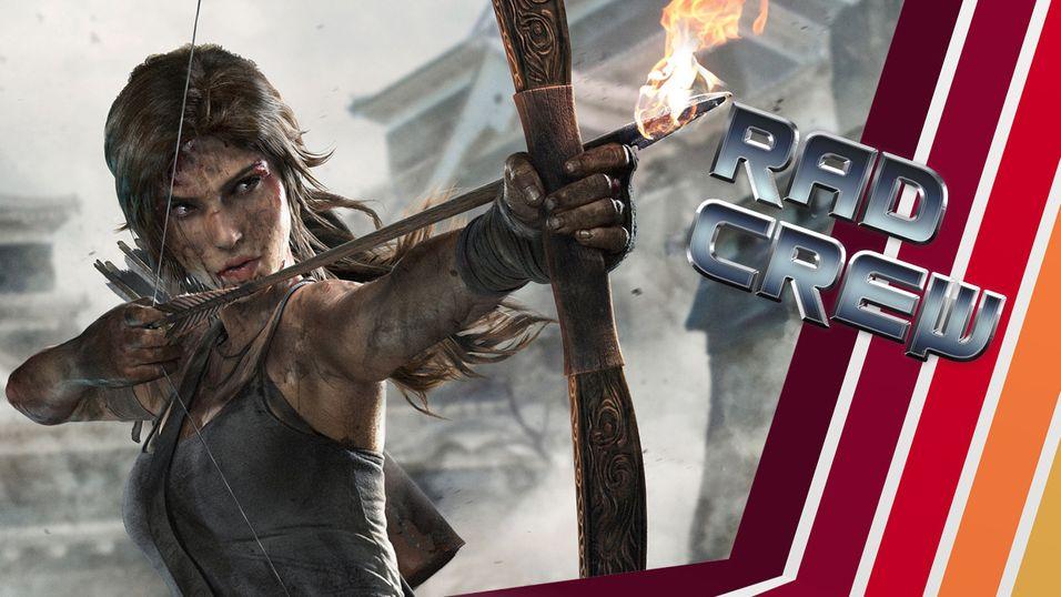 Tomb Raider er et av diskusjonstemaene.