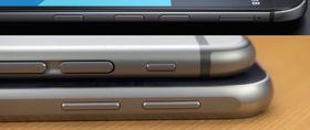 Det er ikke vanskelig å se likhetene mellom Galaxy S6, iPhone 6 og HTC One (M9).