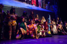 Cosplay var også en sentral del av spillfestivalen i Telenor Arena.