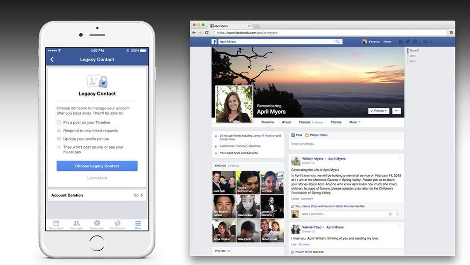 Hvem skal arve Facebook-kontoen din når du dør?