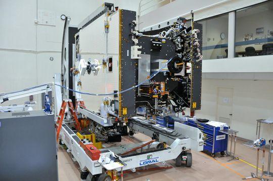 Thor 7 under en tidlig konstruksjonsfase, der mye utstyr fortsatt mangler.