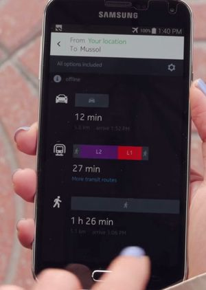 Blant oppdateringene skal det være rutealternativer for både bil, kollektivtrafikk og deg som går til fots.