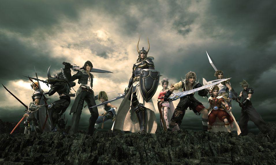 Final Fantasy-heltane møtast til ny strid