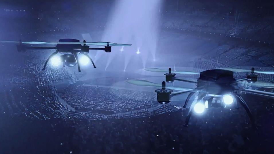 Du kan se tidenes drone-show i høst