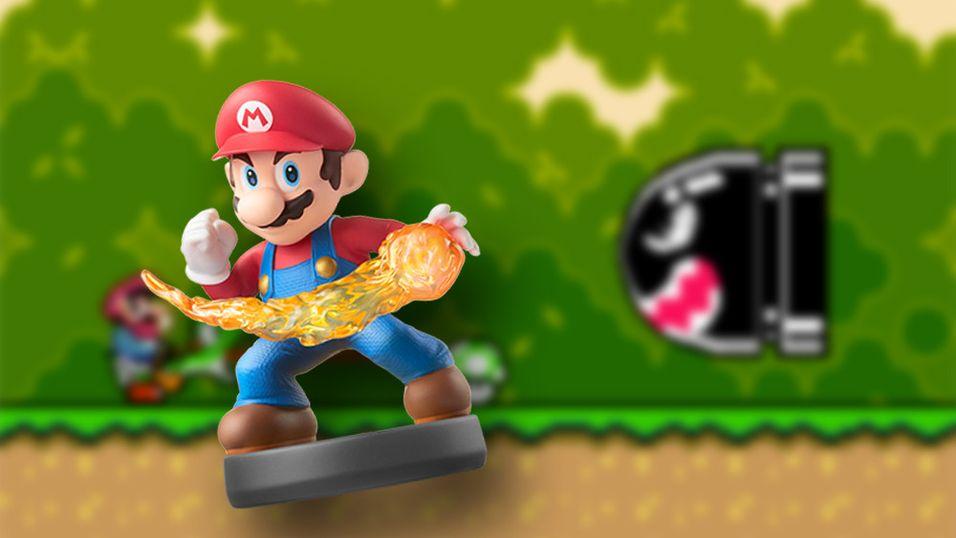 Snart kan du bruke disse figurene til å låse opp Super Nintendo-spill