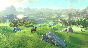 Nye Zeldas åpne verden presser Wii U til sitt ytterste