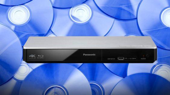Panasonic viste frem en protoype av sin kommende Ultra HD Blu-ray-spiller i januar.