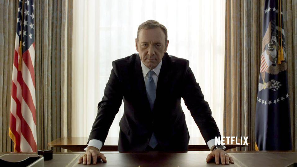 House of Cards er en av få serier du kan se i 4K i dag.