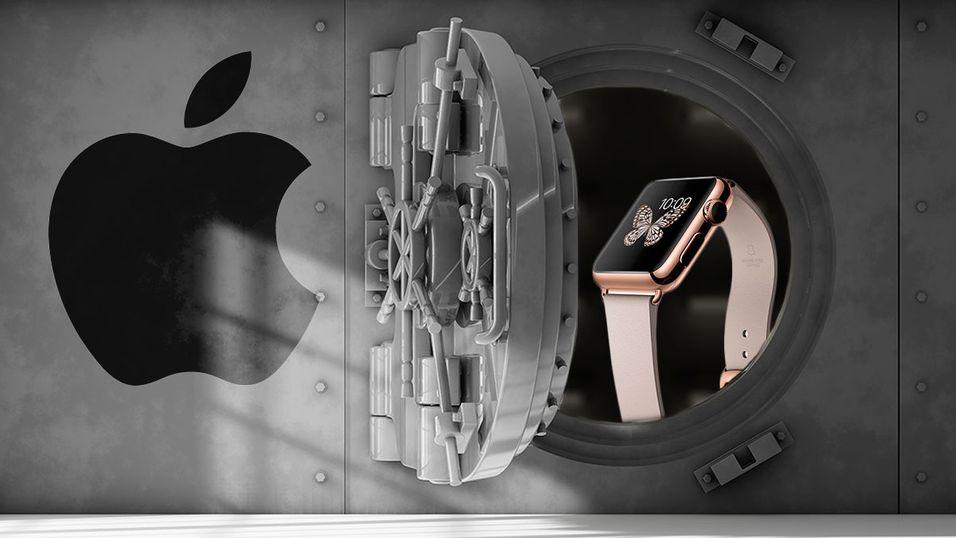 Apple Watch Edition i 18 karat gull kan koste deg dyrt.