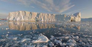 Ilulissat-fjorden.