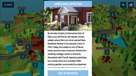 Appen har også noe for deg som bare er turist i Falun.