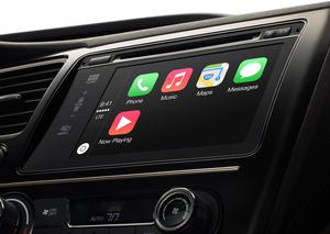 Apple har allerede tatt et lite skritt inn i bilindustrien med CarPlay.