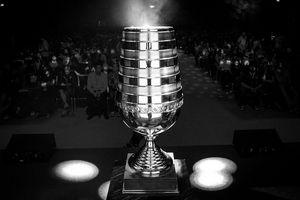 Trofeet fra fjorårets Cologne-turnering.