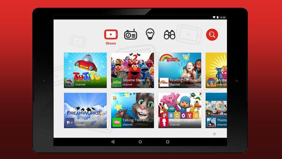 YouTube lanserer en app for barn