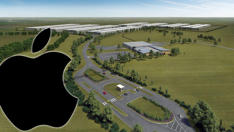 Det var stor skuffelse blant norske aktører da Apple la sitt datasenter til Viborg i Danmark.