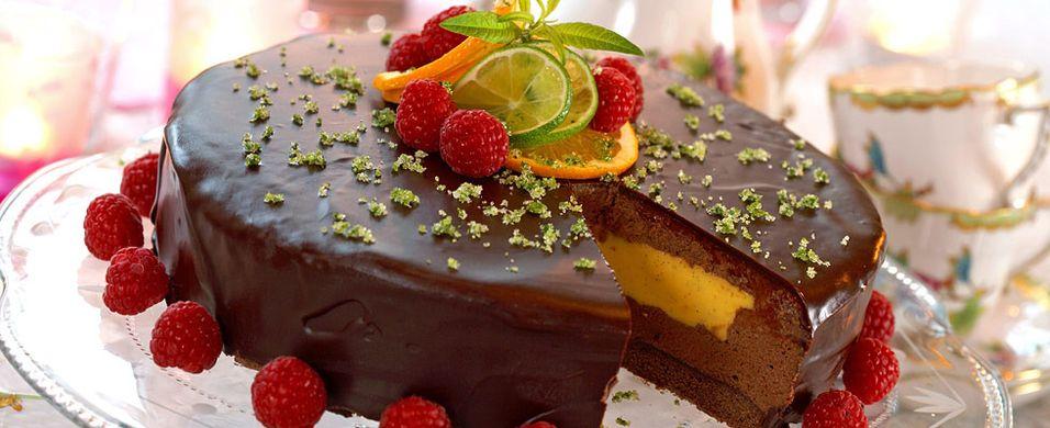 Bak noe skikkelig godt med sjokolade