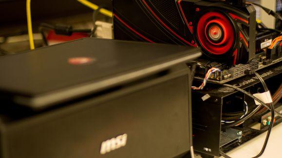 TEK-testbenken VS MSI Gaming Dock