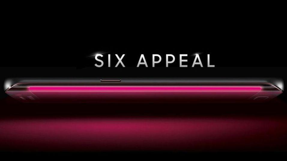 Slik ser bildet som pryder T-Mobiles forhåndsregistrering for Galaxy S6 ut.