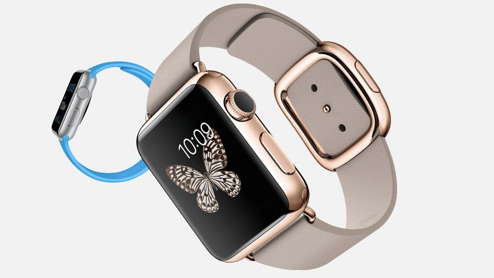Tre klasser: Apple Watch kommer i to størrelser og tre klasser: Watch, Watch Sport og Watch Edition