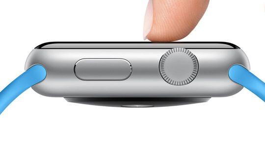 Apple Watch-skjermen skjelner mellom lett berøring og kraftigere press.