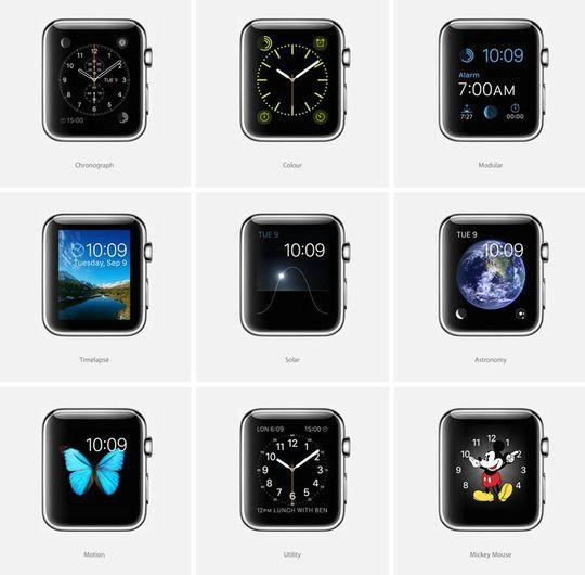 Hvor mange uttrykk kan Apple Watch-skjermen egentlig ha?