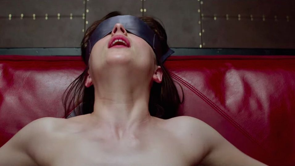 En scene fra 50 Shades of Grey.