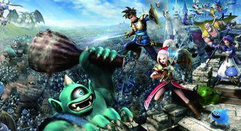 Dragon Quest-actionspel kjem til Europa