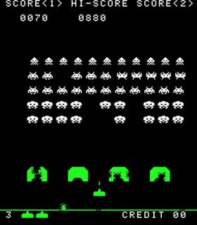 Klassikeren Space Invaders er blant spillene som Deep Q nå mestrer.