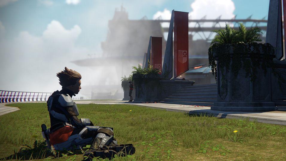 The Tower er et sted der man kan slappe av mellom oppdragene.