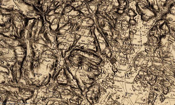 Gamle kart kan være veldig spennende å titte på. Men også nyttige for slektsgranskeren.