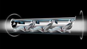 Hyperloop skal frakte mennesker i kapsler med en fart på over 1200 kilometer i timen.