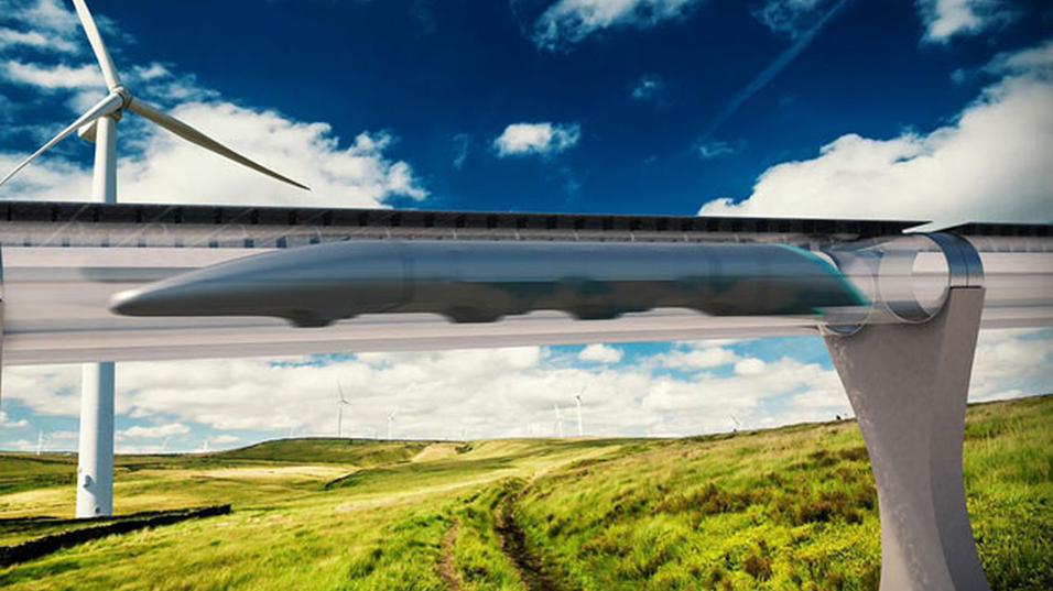 En testbane for Hyperloop kan snart bli en realitet.