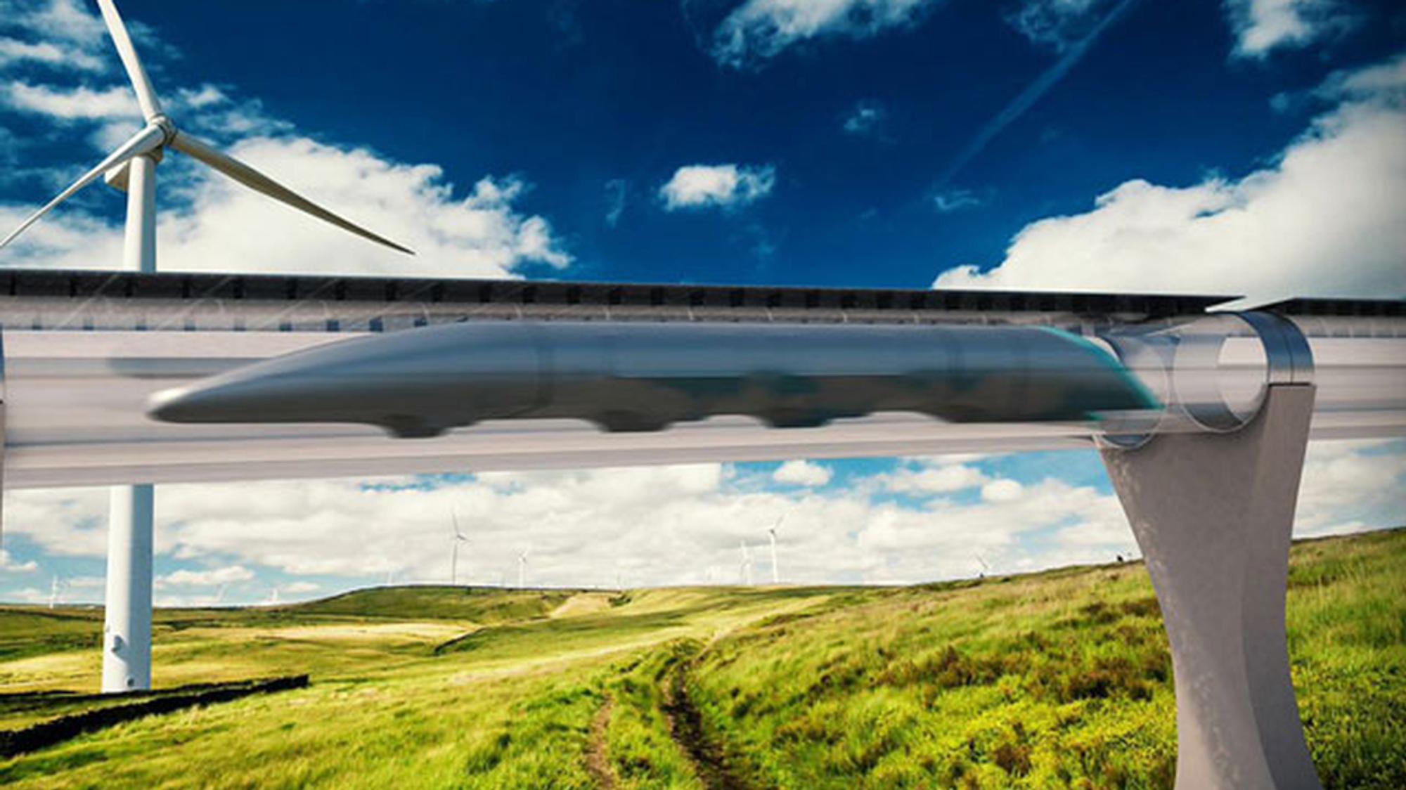 Avtale signert: Nå kan Europa få sin første Hyperloop-bane