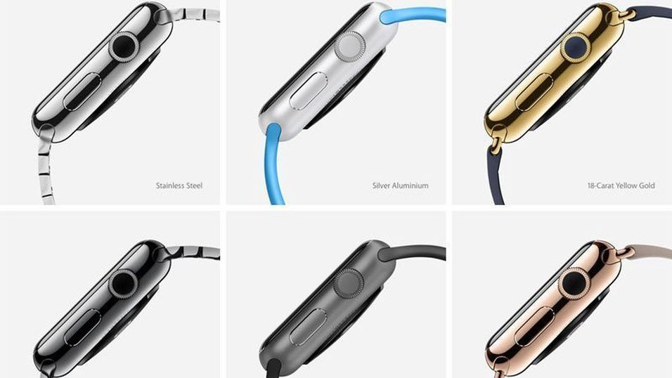 Apple Watch kommer i flere varianter
