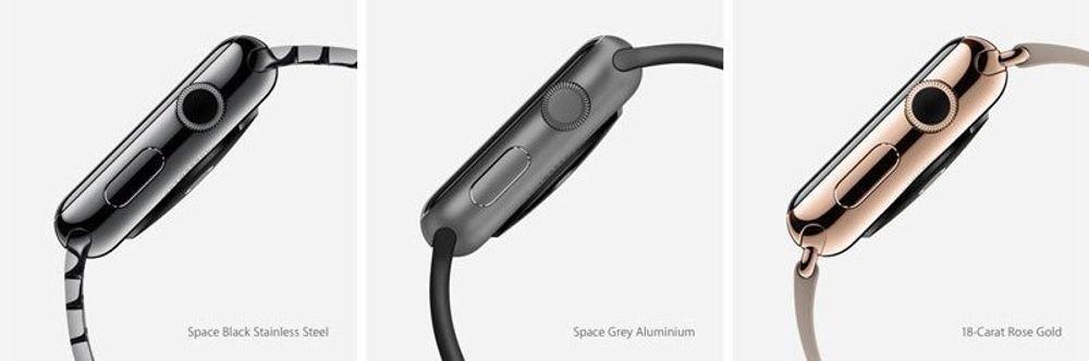 Apple Watch kommer i flere varianter til forskjellige priser.