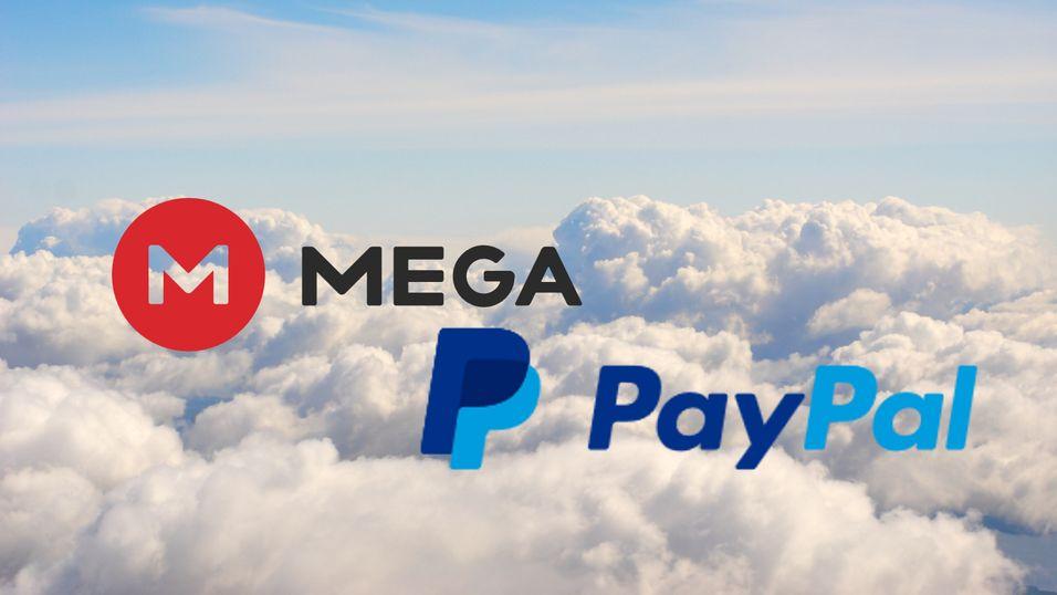 Nå kan du ikke lenger bruke PayPal på skytjenesten Mega
