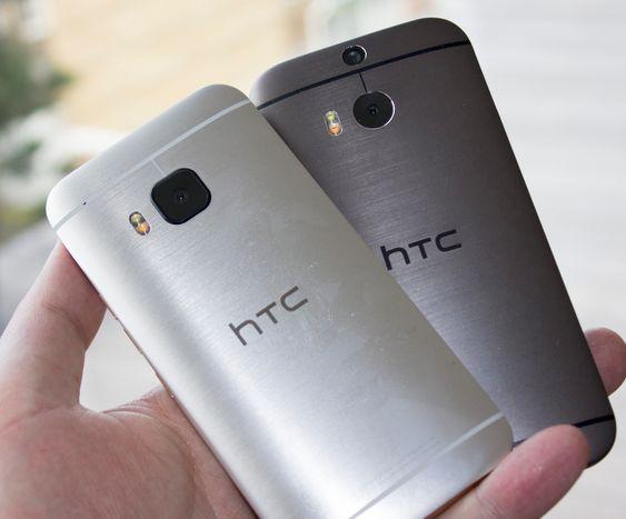Ser du forskjellen? Nye HTC One M9 er den til venstre.
